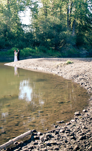 Newlyweds along the Nechako River