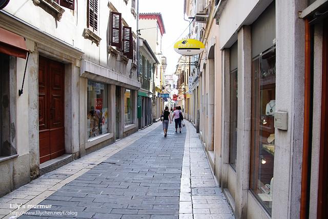 Koper鎮上一景,建築真的很有義大利風味。
