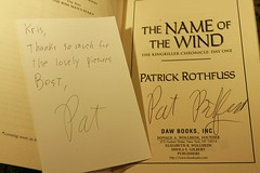 Patrick Rothfuss is a sweetheart