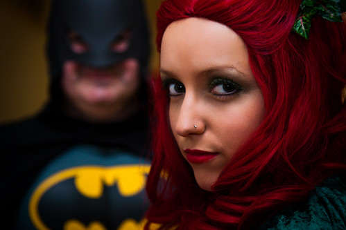 Poison Ivy & Batman