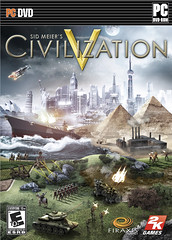 CIVILIZATION V FRONT OF BOX