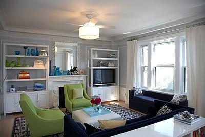 Suze Yarloff living room