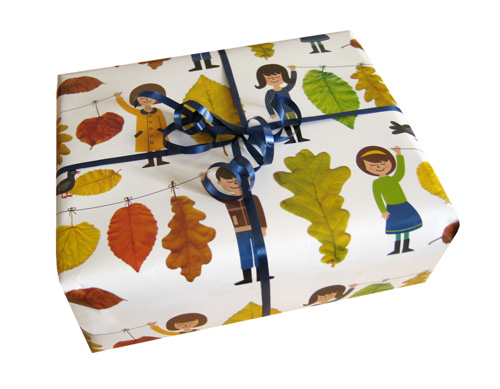 wrapping paper giveaway