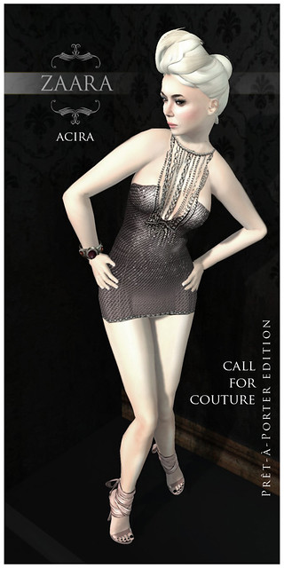 Zaara : Acira for Call for Couture (prêt-à-porter edition)