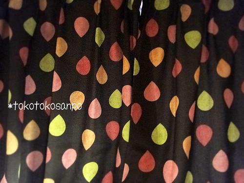 ニッセン カーテンで秋冬用に模様替え