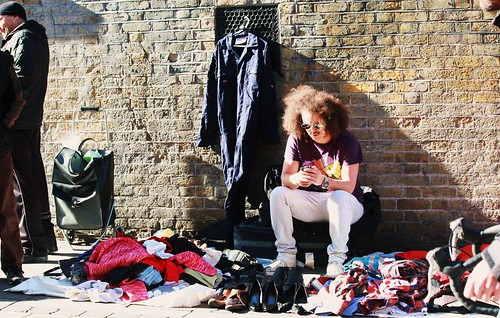 Brick Lane Clothing Vendor