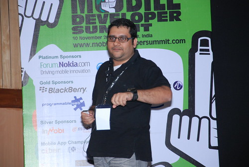 Me talking @ Mods2010