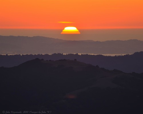 Mount Diablo Sunset
