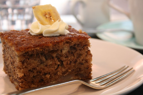 Ginger and White banana bread