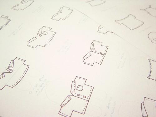 Doodles das roupinhas dos mini-mis