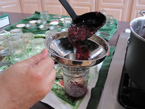 Putting the jam in jars