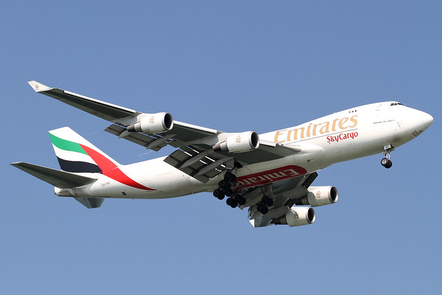 Emirates B747-400F/ER(OO-THC)