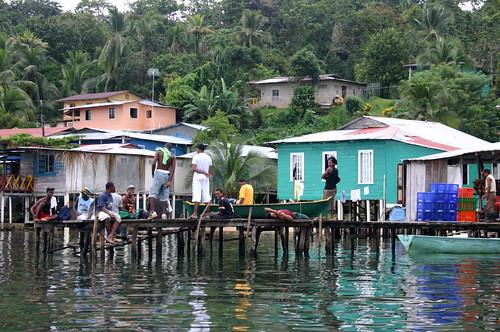 Bootsanleger, Isla Bastimentos