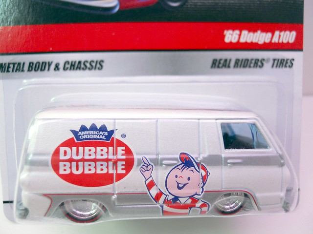 hot wheels delivery double bubble '66 dodge a100 (2)