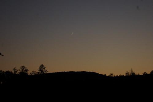 Moon and Venus on 10/9/10