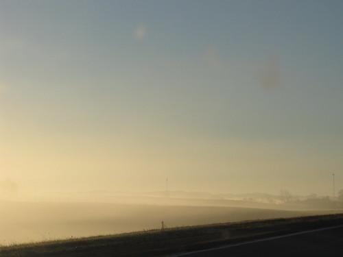 Sun Burning off the Fog