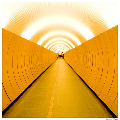 yellow tunnel