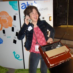 gdgt: at&t museum briefcase phone