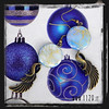 LMAZAL orecchini ali bronzo azzurri   bronze blue wings earrings 1129