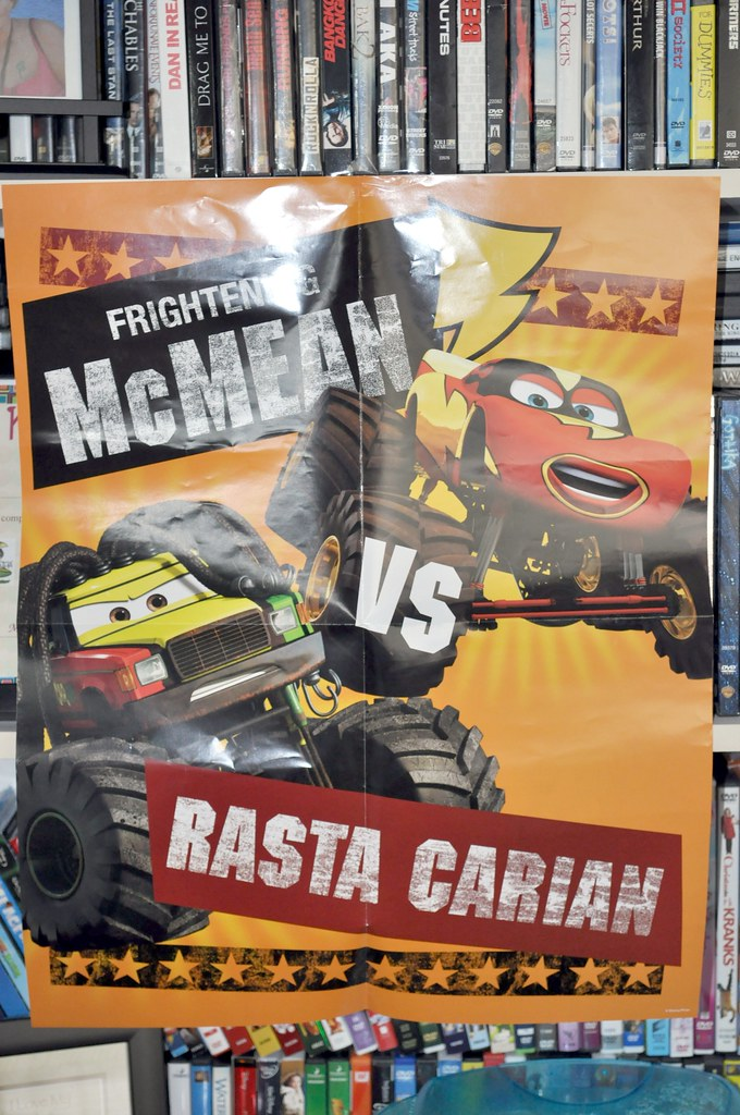 2010 sdcc disney CARS toon poster (1)