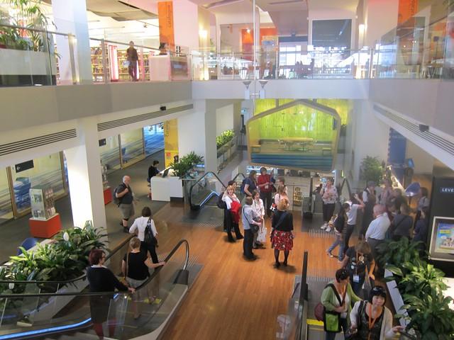 Brisbane Ciry Square Library tour