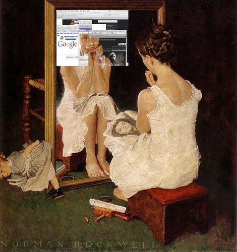 "Rockwell's ""Girl at the Mirror"" in the 21st Century"