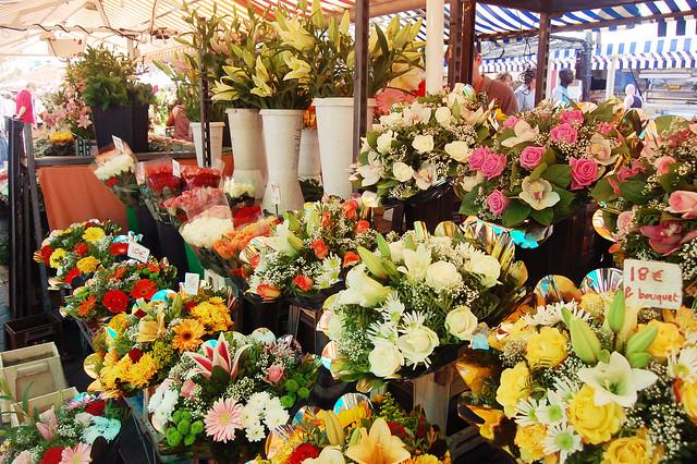 Flower Market, Nice France