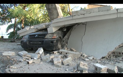 Car under Rubble