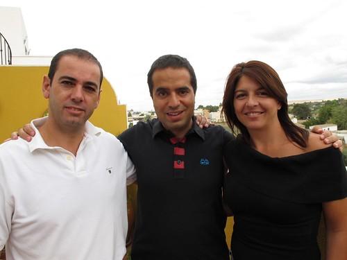 Fernando, Nacho y Marina