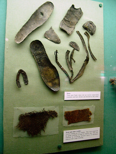 Assorted shoe parts