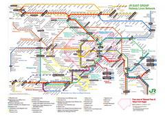JR East Tokyo Map