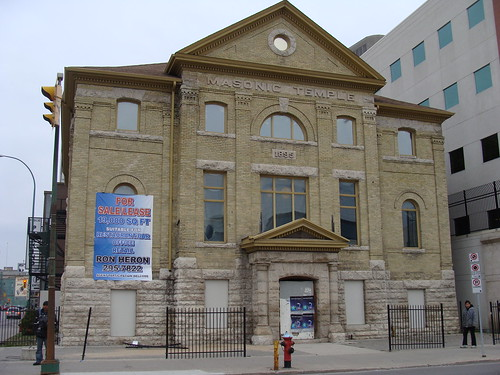 Haunted Masonic Temple