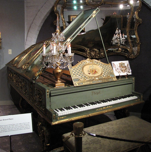 1885 Pleyel Art Case Grand Piano by snarkygurl