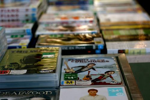 Monday: Sale DVDs