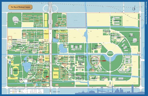 Minhang Campus Map