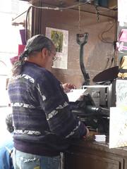 Drucker und Setzer, Mexiko City