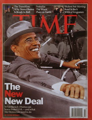 Barack Obama, Time cover November 24, 2008, &q...