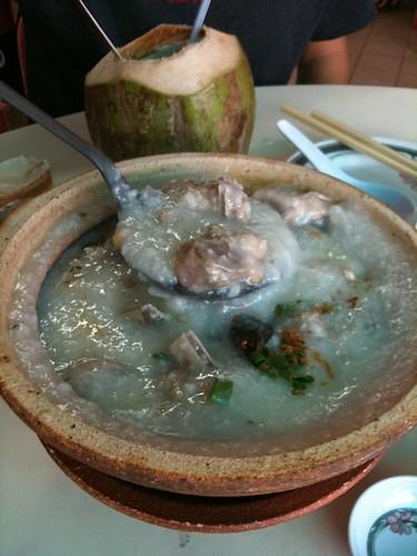 century pork porride pan heong