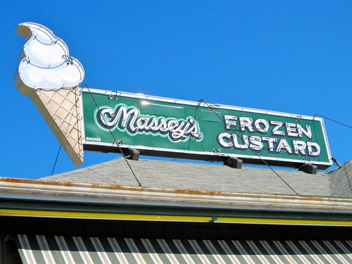 Massey's Frozen Custard Sign
