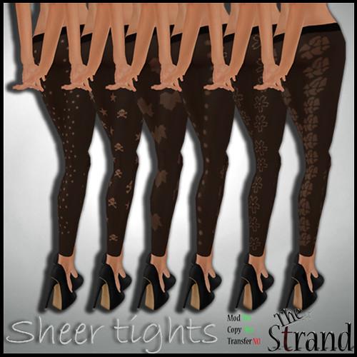 The Strand - Sheer Tights ad