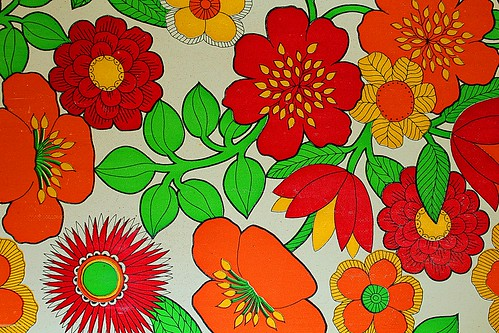 Kitchen wallpaper 70´s