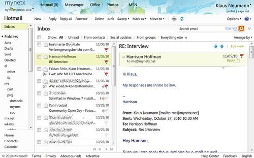Hotmail - mynetx.net