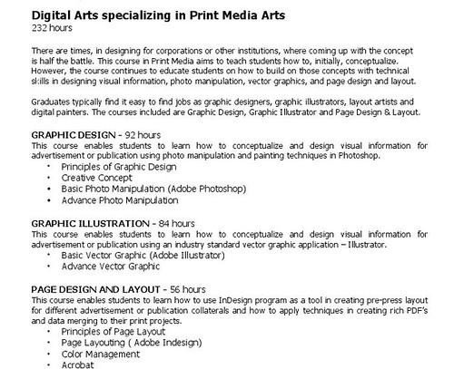 FACA print media