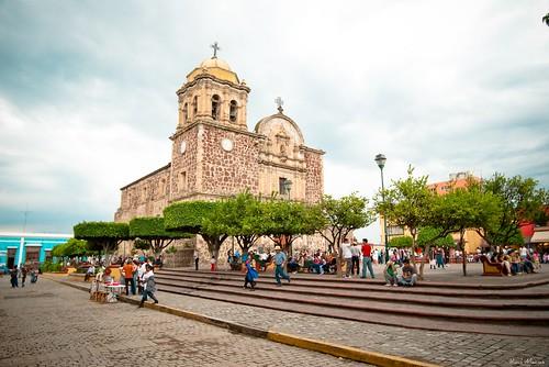 Iglesia y atrio de Tequila