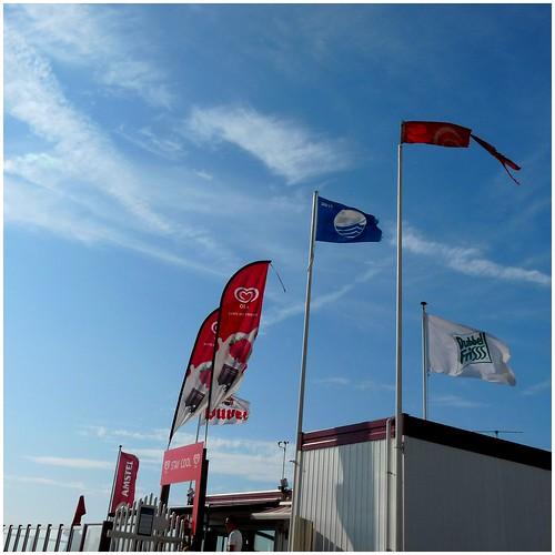 blauer Himmel und Wind - was braucht man mehr?