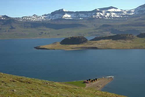 Another view on the fjord near Eskifjörður