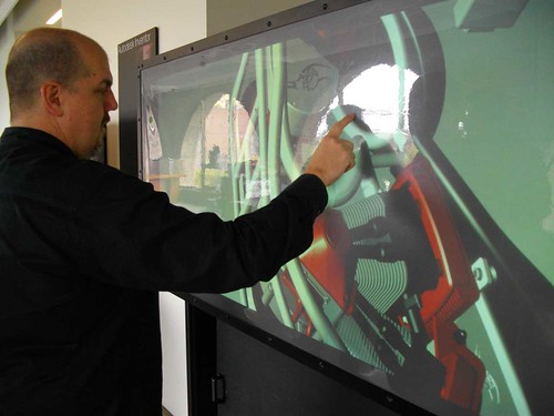Multi-touch Wall, Autodesk Gallery @ Market One