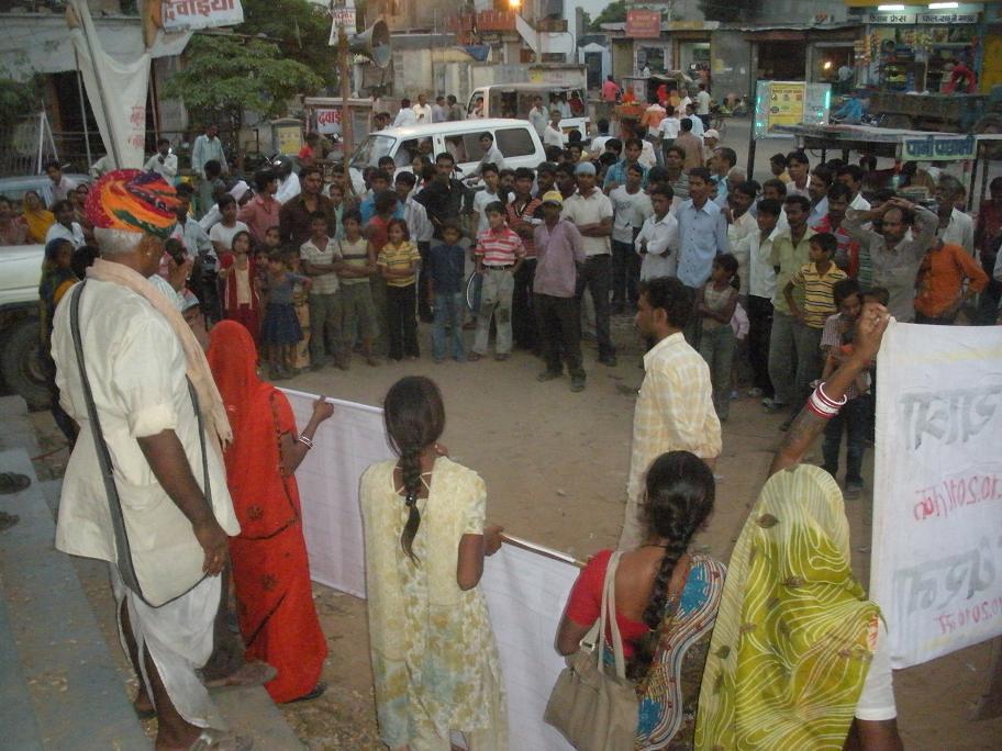 Pics from the satyagraha - 5, 6 & 7 Oct 2010 - 8