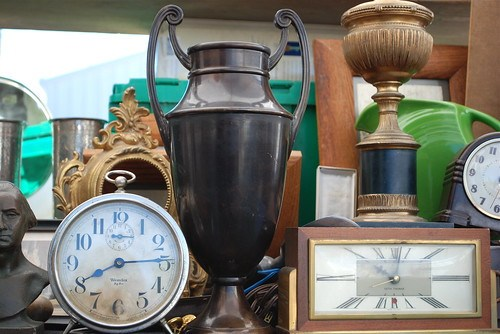 antique bronze trophy