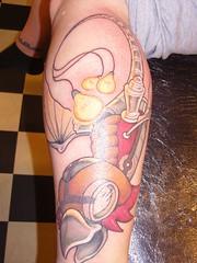 Steampunk Phoenix tattoo